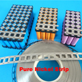 18650 li-ion battery pure nickel strip 3P2S 4P2S 5P2S nickel belt lithium battery nickel plate Used for 18650 battery holder