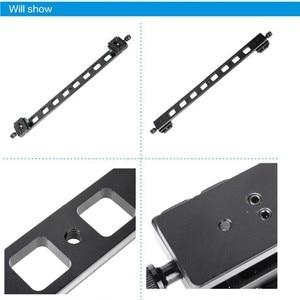 """Image 3 - Manbily PU 480 Allunga piastra di montaggio Veloce 1/4 """"Universale del Treppiede piastra a sgancio rapido mini slitta per la macchina fotografica DSLR 480x38x10mm"""