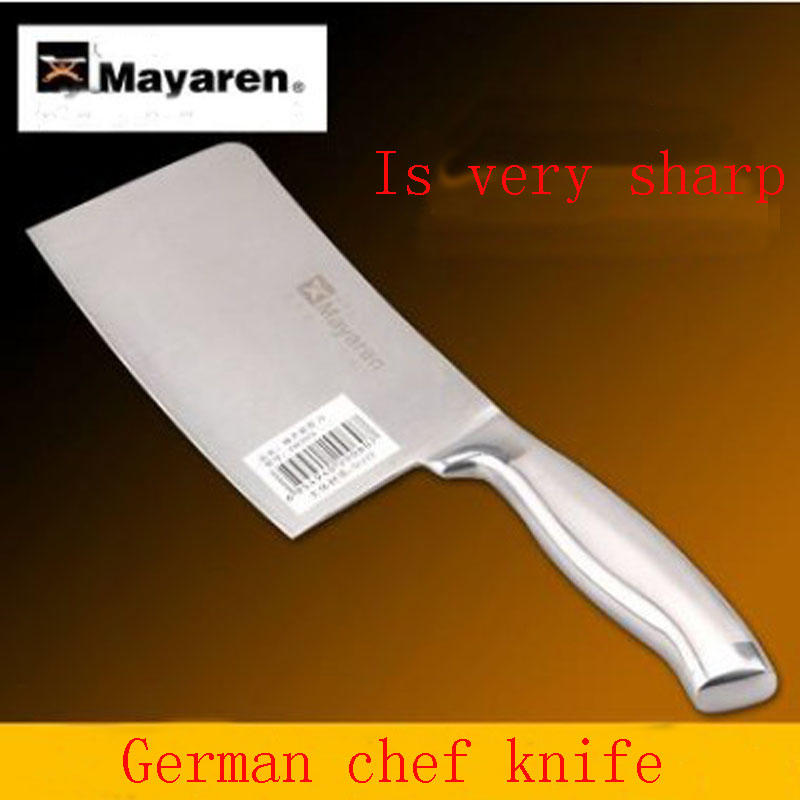 Traditional carbon steel kitchen Accessories font b knives b font slicing chop bone cutting font b