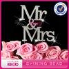 2017 High Quality Mr Mrs Rhinestone Monogram Wedding Cake Topper