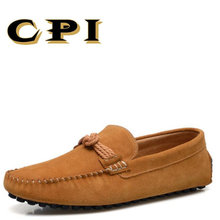 CPI 2018 New British Style Fashion design Men's casual shoes Breathable soft Comfortable men sneakers Driving shoes PP-57