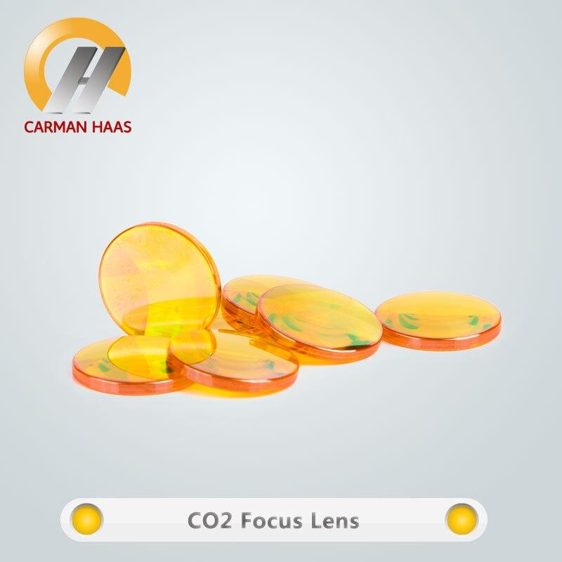 CARMANHAAS USA ZnSe CO2 lentille Laser diamètre 27.94mm lentille de mise au point FL 50.8mm 150mm