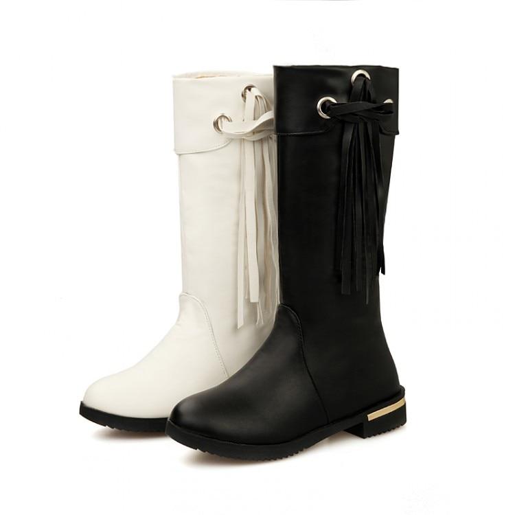 shoes woman Fashion motocicleta mulheres martin outono inverno botas de couro boots femi ...