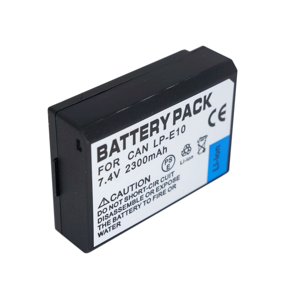 <font><b>7.4V</b></font> <font><b>2300mAh</b></font> LP-E10 LP E10 LPE10 Digital Camera <font><b>Battery</b></font> For CANON 1100D KISS X50 REBEL T3 1200D T6 1300D <font><b>Battery</b></font> image