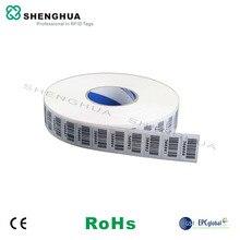10 шт./упак. Alien H3 860-960 МГц Бумага рулон RFID наклейка 36*22 мм УВЧ пассивный тег Поддержка для проведения инвентаризации
