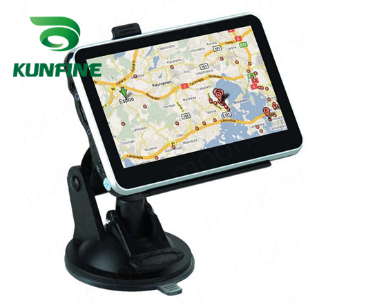 4.3 Inch Wince 6.0 Car GPS Navigation Radio 8GB 256M Truck Vehicle GPS Navigators Lorry Rear View Camera Screen Free Map Upgrade 7 inch car gps navigation capacitive screen fm built in 8gb 256m wince 6 0 map for europe usa canada truck vehicle gps navigator