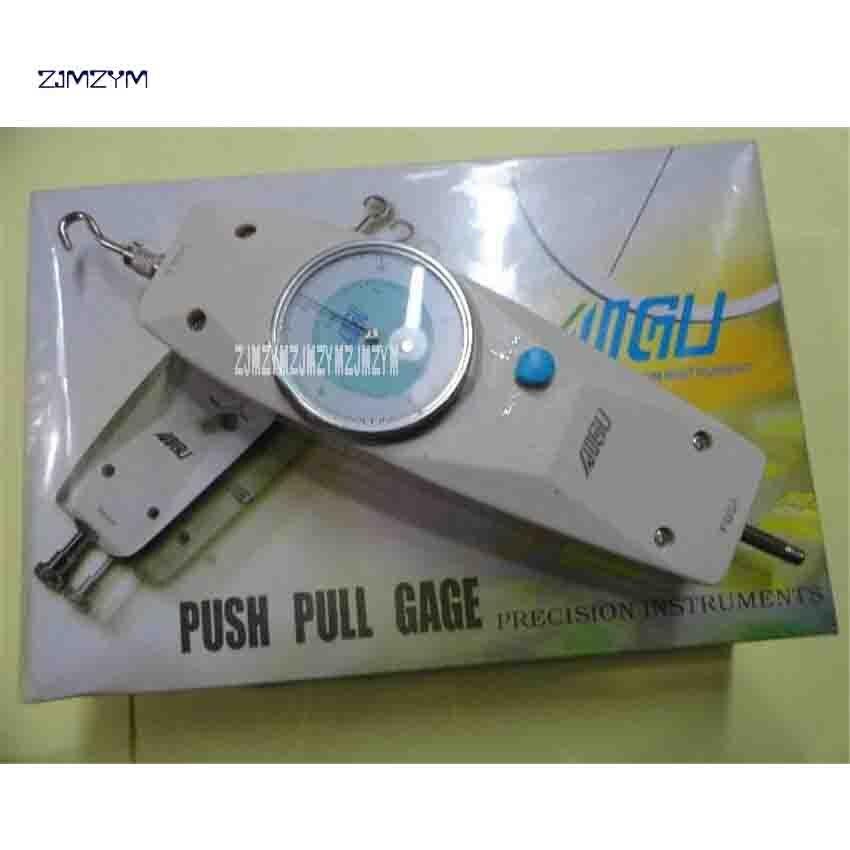New Arrival Mechanical Push And Pull Pressure Gauge NK-500 Dial Type Dynamometer Force Measuring Instruments 500N, 50Kgf 10MM 100n dial mechanical push pull gauge