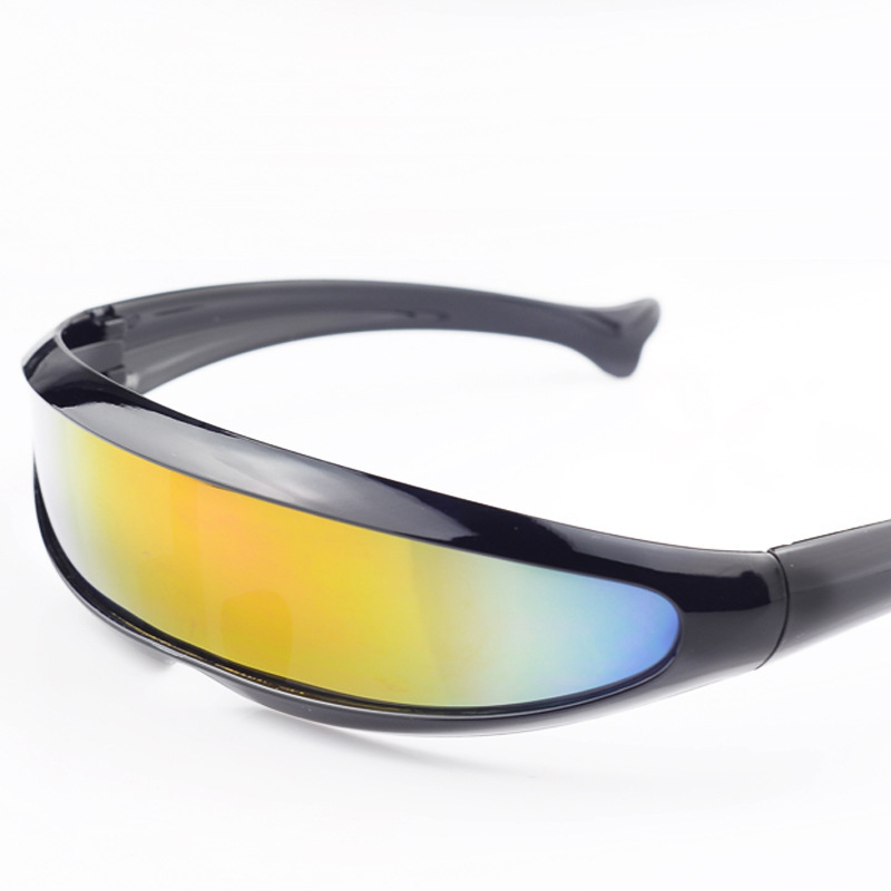 Goggle Sunglasses  aliexpress com black frame colorful lens x man goggles
