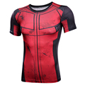 Fun Deadpool Shirt Tee 3D Printed T-shirts Men Fitness Gym Clothing Male Tops Funny T Shirt Superman Deadpool Costume Display