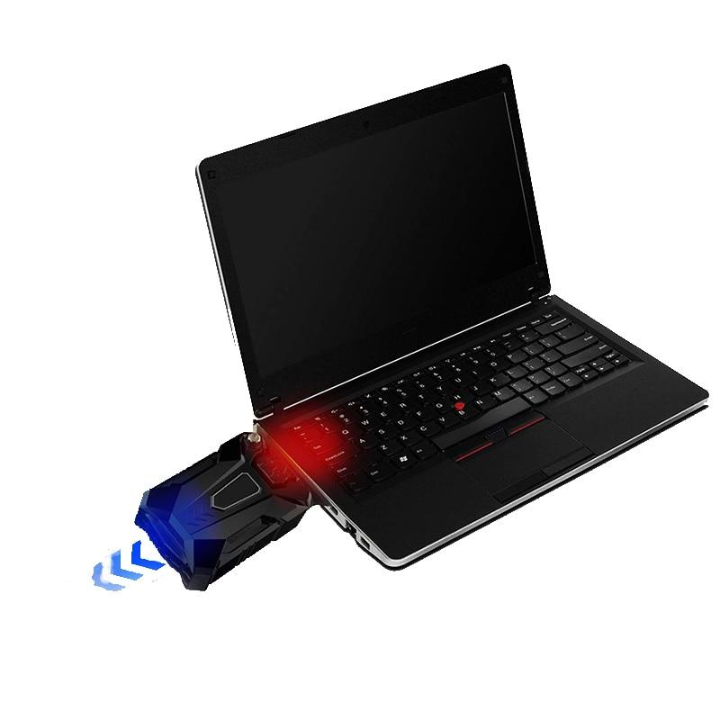 USB նոութբուքի սառեցման պահոց Բարձր - Նոթբուքի պարագաներ - Լուսանկար 1