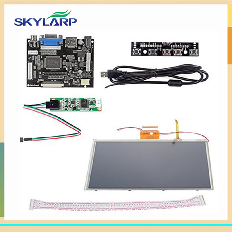 skylarpu 9 inch touch screen for AT090TN10 HDMI VGA Digital LCD Driver Board with Touch Screen for Raspberry Pi Free shipping skylarpu 7 inch raspberry pi lcd screen tft monitor for at070tn90 with hdmi vga input driver board controller without touch