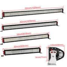 CO LIGHT 22″32″42″52″ Inch 12D Offroad Led Bar 924W 744W 564W 384W Led Light Bar Spot Flood Combo 9-32V for Auto 4×4 Lada Ford