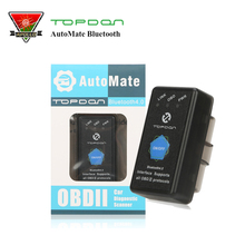 Topdon ELM327 PICI8F25K80 AutoMate elm 327 Bluetooth 4.0 With Full OBD2 Functions Auto Scan Tools