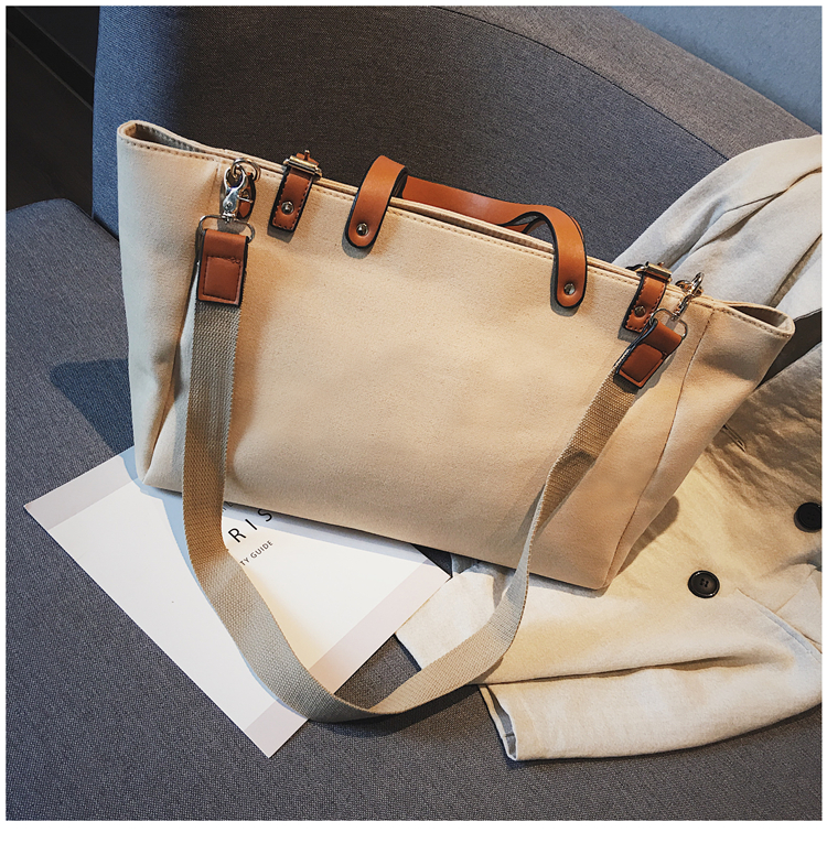 Luxury Ladies Bags Canvas Fashion Large Capacity Tote Bags Letter Shoulder Messenger Bags for Women 2018 Casual Tote Luis Vuiton 17