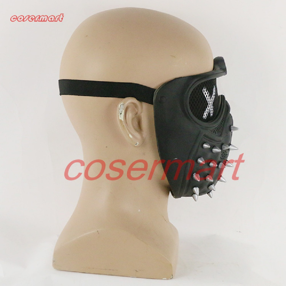 Image 5 - Game Cosplay Mask Watch Dogs 2 Mask Wrench Holloway Mask Casual Tangerine Mask Halloween Party Prop-in Boys Costume Accessories from Novelty & Special Use