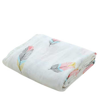 Bamboo Cotton Soft Baby Swaddle Muslin Wrap Infant Baby Bedding Muslin Baby Blanket For Newborn - DISCOUNT ITEM  30% OFF All Category