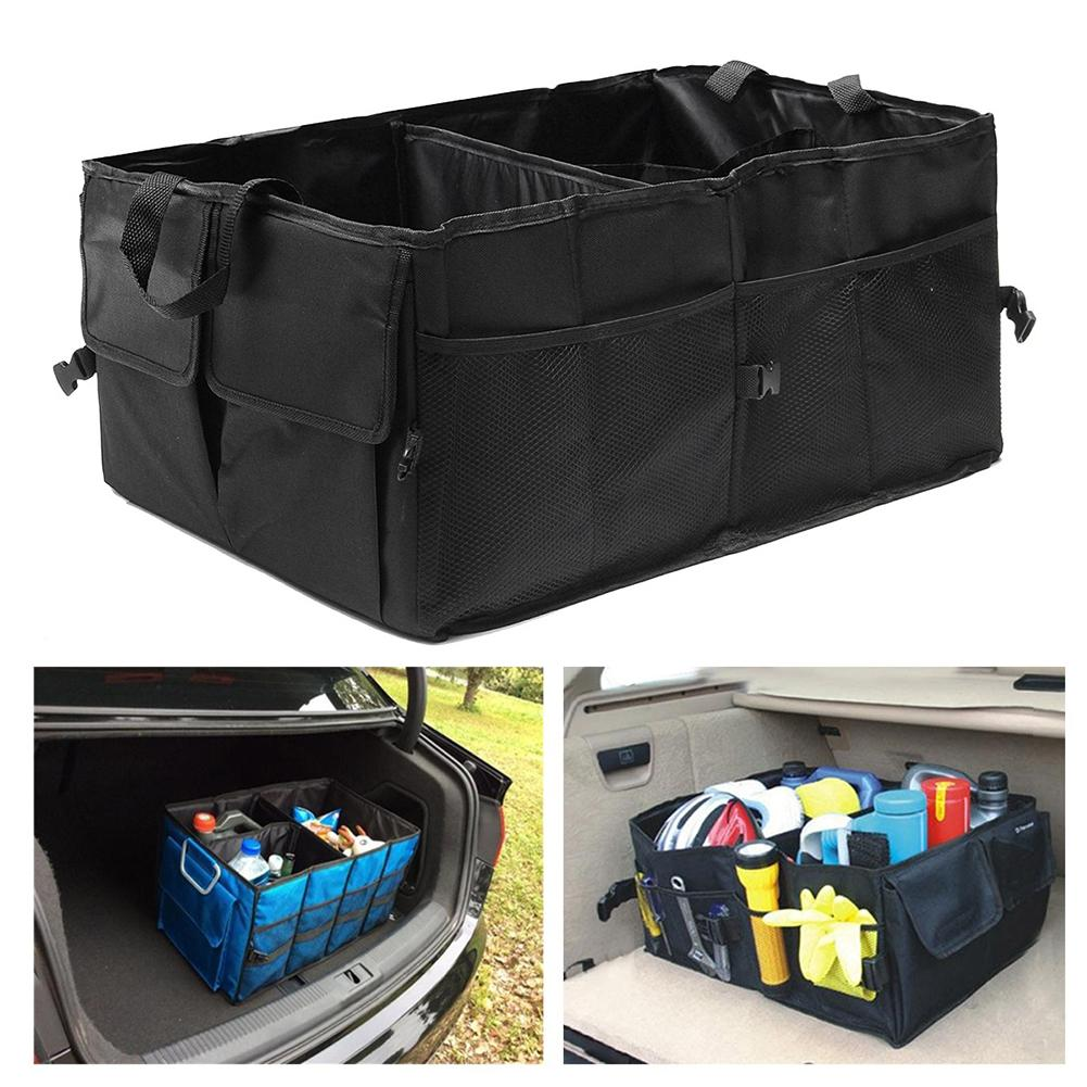 Trunk Organiser  SUV Truck Boot Storage Car Durable Collapsible Cargo Organizer