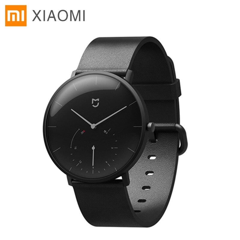 Xiaomi Mijia Montre À Quartz Intelligente IP67 Étanche Smartwatch Bluetooth4 3ATM Podomètre Bracelet Auto temps D'étalonnage vibration
