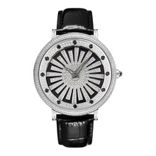 When The Quartz Rotates, The Fashion Is Neutral. The star Is Full Of 5A Cut Zircon. The Large Dial Is For Men And Women.