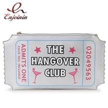 New fashion cartoon letters silver printing envelope clutch bag party purse shoulder bag ladies handbag messenger bag purse