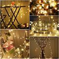 50 Luces de la Secuencia del Globo USB Operado 5 M Llevó Bola de Luz Estrellada de Hadas Para Jardín Fiesta de Navidad Decoración lámpara