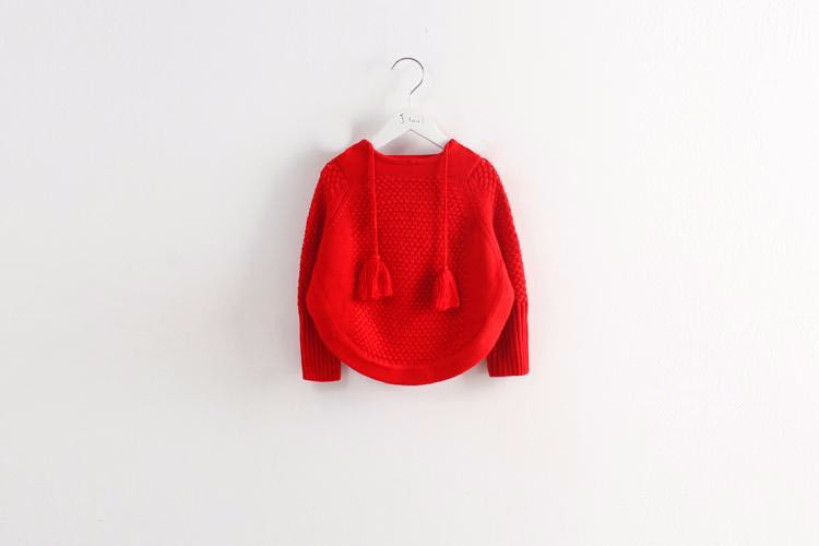 child hooded knitted sweaters 3