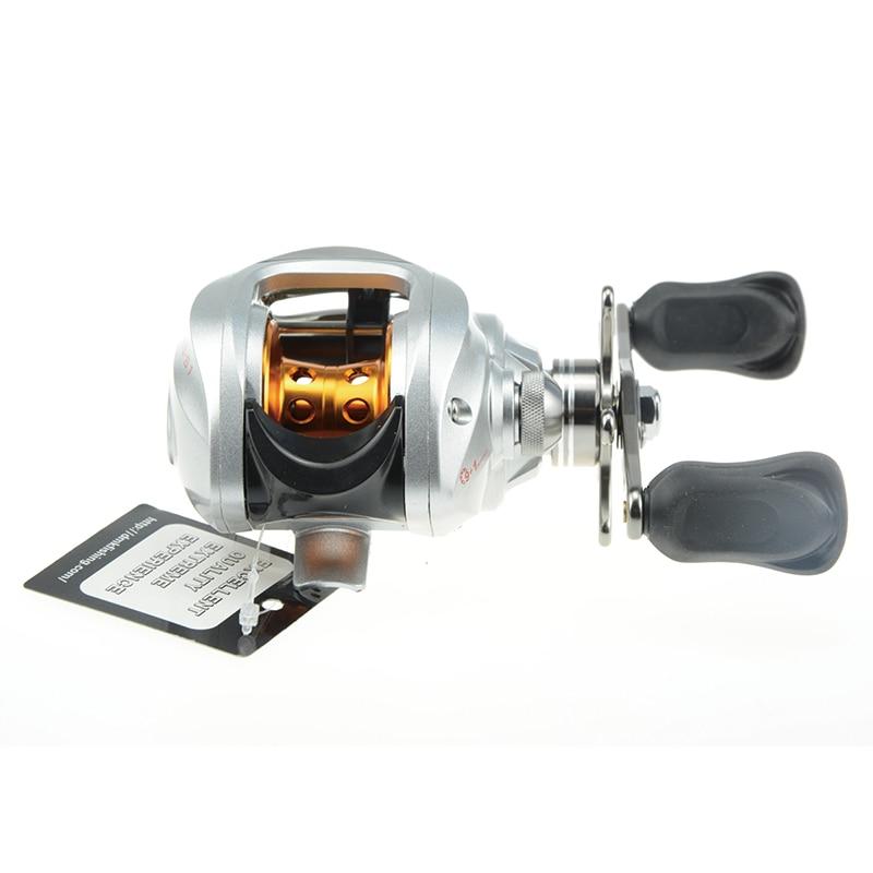 DSstyles DM120RG-S1 10BBs Baitcasting Fishing Reel Right / Left Hand Bait Casting Reel Baitcast Reel Lure wheel