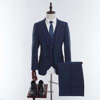 wuzhiyi Custom Made Men Suit Tailor made Slim Fit Wedding Suits For Men Blazer Latest Coat Pant Designs (Jacket+Pants+Vest) 2018