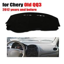 Приборной панели автомобиля Обложка Коврик для chery старый QQ3 2012 и до года левым dashmat Pad стол pad автомобилей аксессуары Приборной Панели
