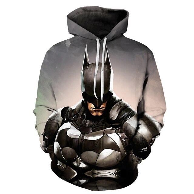 Avengers 3 Infinity War Iron Man Superhero batman Hoodie Sweatshirt For Men 3D Print Hoodies Streetwear Casual Cospaly Hoodies 2