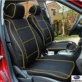 Cubierta de asiento de coche especial para subar u forester 2014 BRZ Outback legado Tribeca impreza xv legado NEGRO/GRIS/accesorios coche ROJO