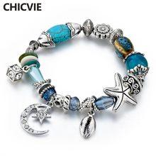 Chicvie moon & stars браслеты дружбы и Подвески для женщин ювелирные