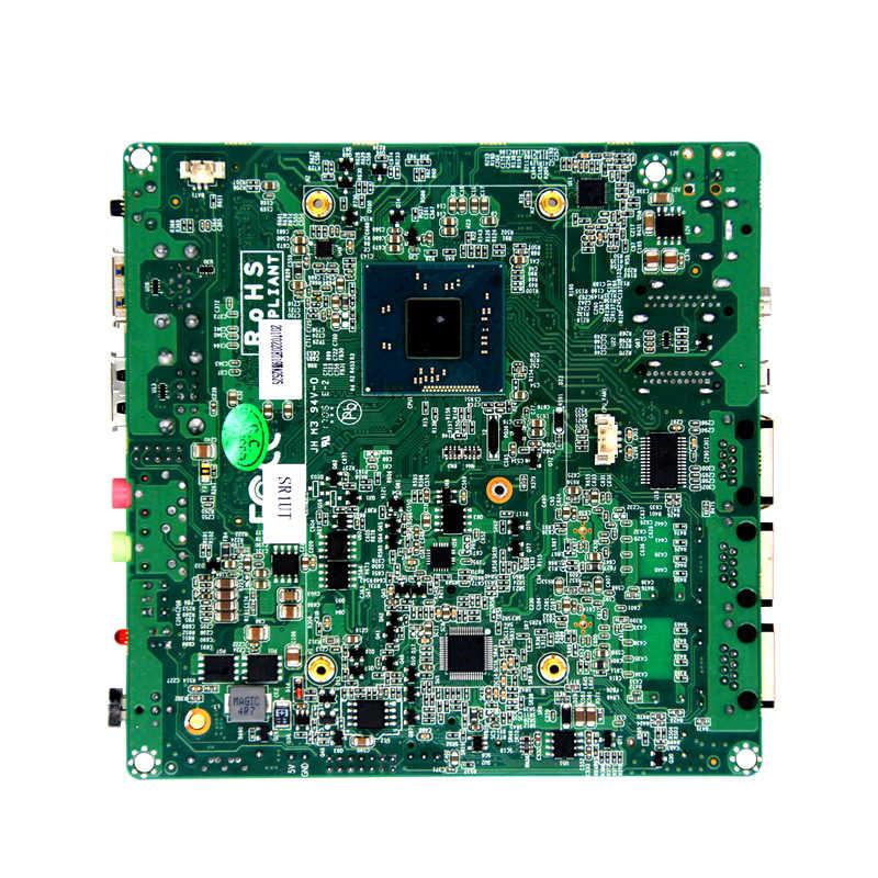 2018 chiny hurtowych bez wentylatora nano płyta główna do komputera nuc board z podwójnym i1211at Port Lan