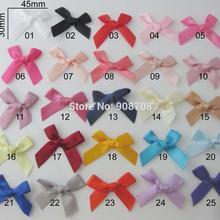F0028 10 мм атлас галстук-бабочка 200 шт микс или выбрать цвет детская одежда аксессуары для украшения, декоративный светильник