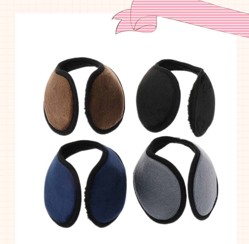 Winter Unisex Earmuff Ear Muff Wrap Band Ear Warmer Earlap Gift Black/Coffee/Gray/Navy Blue Apparel Accessories