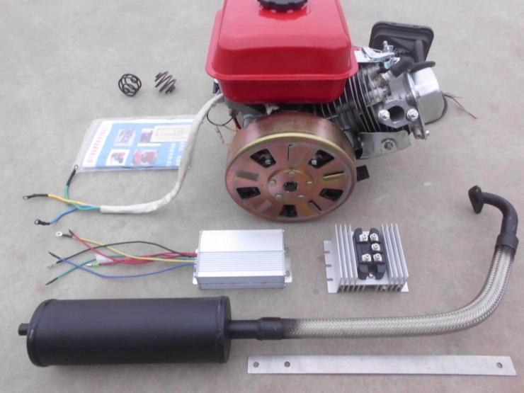 Extended Range Electric Vehicle Generator 48v60v72v Three