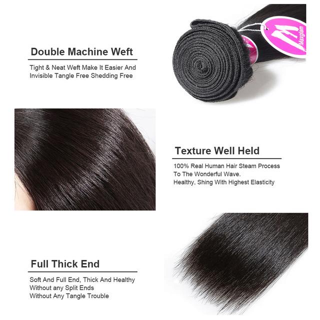 Bundles Straight Brazilian Hair Weave