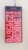 Text message Led sign screen, Pocsag pager text receiver, wireless calling system, waiter buzzer, Alpha text display
