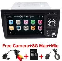 2din Carro DVD Navi para Audi A4 GPS GSP (2002-2008) Audi S4/RS4/8E/8F/B9/B7 Com GPS Bluetooth Radio RDS Canbus Mapa