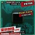 Frete grátis Core 2 Duo P8700 Móvel para Intel Dual Core 2.53 GHz 3 M 1066 MHz Socket 478 CPU processador
