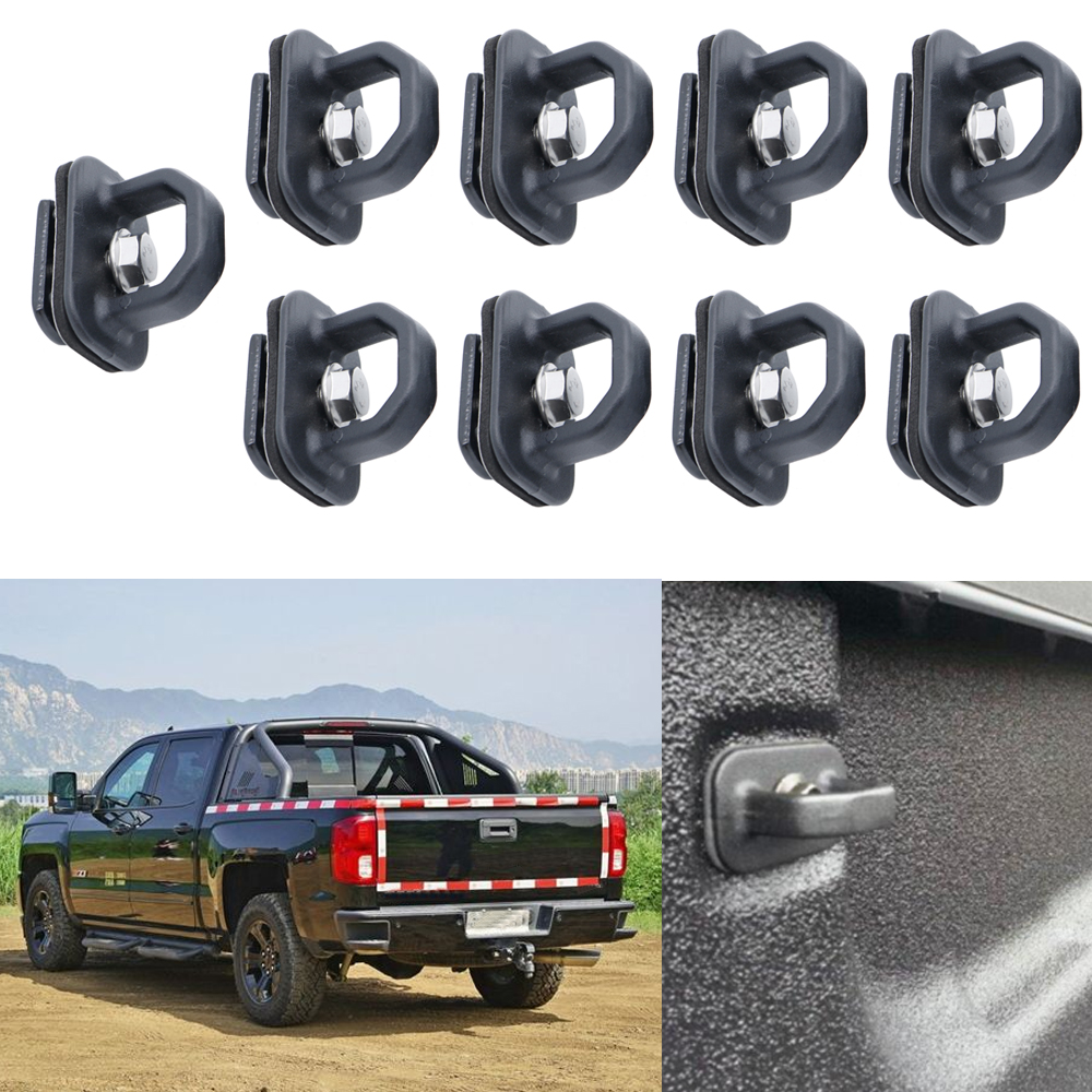 car parts tie down anchor truck bed side wall anchors for gmc sierra cargo anchor tie [ 1000 x 1000 Pixel ]
