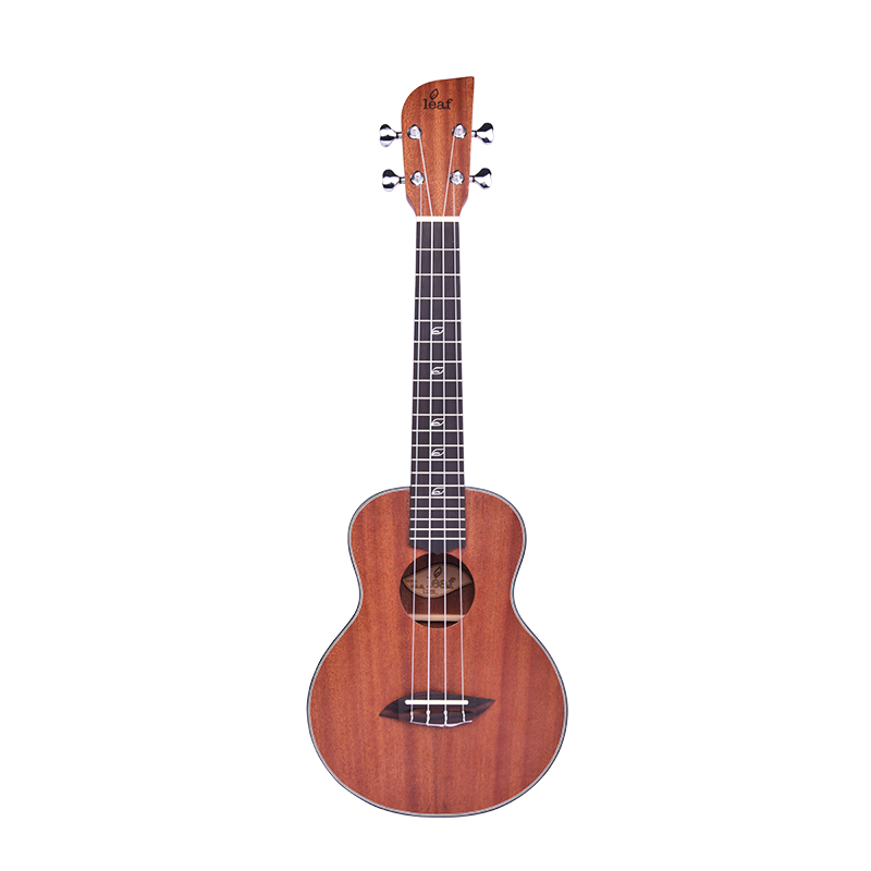 Acoustic  Concert Ukulele 23 Inch Hawaiian Guitar 4 Strings Ukulele Guitar Mahogany Handcraft unique Leaf symbol small guitar soprano concert tenor ukulele 21 23 26 inch hawaiian mini guitar 4 strings ukelele guitarra handcraft wood mahogany musical uke