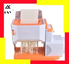 Electric Noodles Pressing Machine Commercial Stainless steel Automatic Manual Pasta Maker Dough Dumpling Spaghetti Cutter full automatic electric pasta machine home kitchen intelligent automatic noodle machine electric household electric dumpling