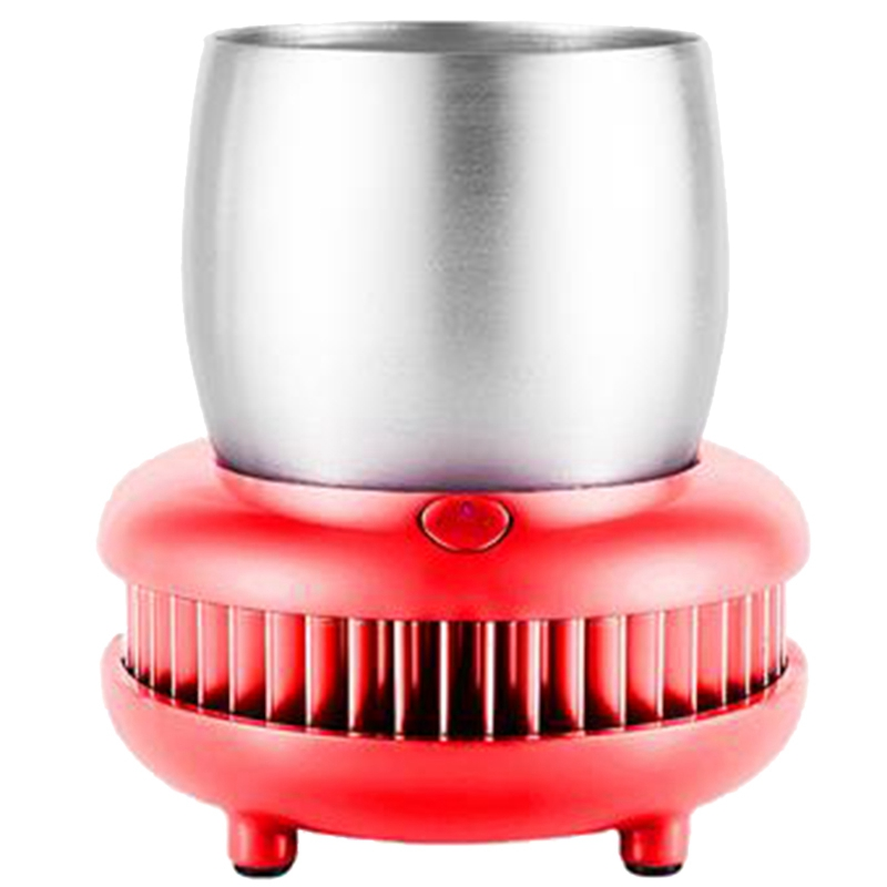 Cup Cooler Refrigeration Cup Aluminum 380Ml Summer Cool Dc 12V 50W 5A Kitchen Tool Plug In Quick Cooling Cup Drink Juicer BeerCup Cooler Refrigeration Cup Aluminum 380Ml Summer Cool Dc 12V 50W 5A Kitchen Tool Plug In Quick Cooling Cup Drink Juicer Beer