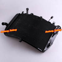 Aluminum Radiator For Yamaha YZF R1 2007 2008 Black Motorcycle Cooler System Replacements
