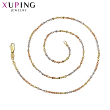 Xuping Fashion Luxury Temperament Necklace Charm Style Long Necklace High Quality Chain Jewelry Black Friday Gifts S69,4-42281(China)