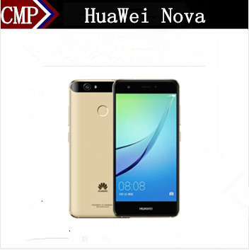 "Цена за Оригинал HuaWei Nova 4G LTE Мобильный Телефон Snapdragon 625 Android 6.0 5.0 ""FHD 1920X1080 4 ГБ RAM 64 ГБ ROM 12.0MP Отпечатков Пальцев"