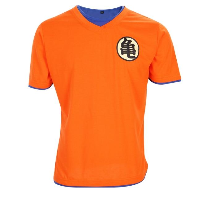Brand Clothing Dragon Ball T Shirt Men 2017 Fashion Design Tshirt Homme Mens Slim Cosplay 3D T-shirt Casual Cotton T shirt Men
