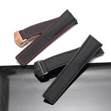 Новый Druable нейлоновые ремешки 22 мм часы bracelets ремешок группы водолазы часы accesssories с красным крестом rosegold пряжки