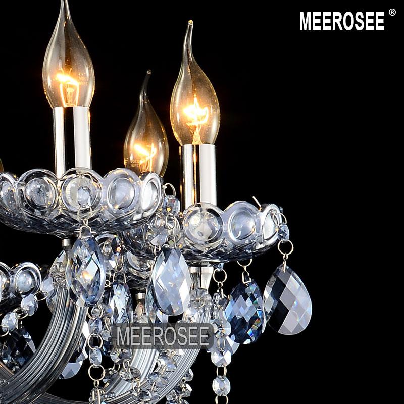 Lumină Albastră Lumină Maria Theresa Cristal Lustre mari Lustre - Iluminatul interior - Fotografie 3